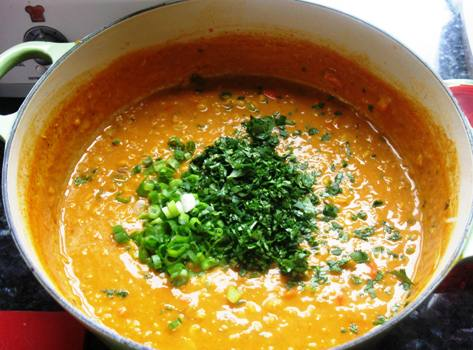 red lentil curried red lentil soup coconut red curry lentil soup ...